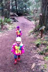 A toddlers hike at Farrel-McWhirter Farm Park